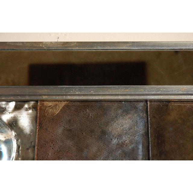 Silver Paul Marra Contemporary Convex Mirror For Sale - Image 8 of 8