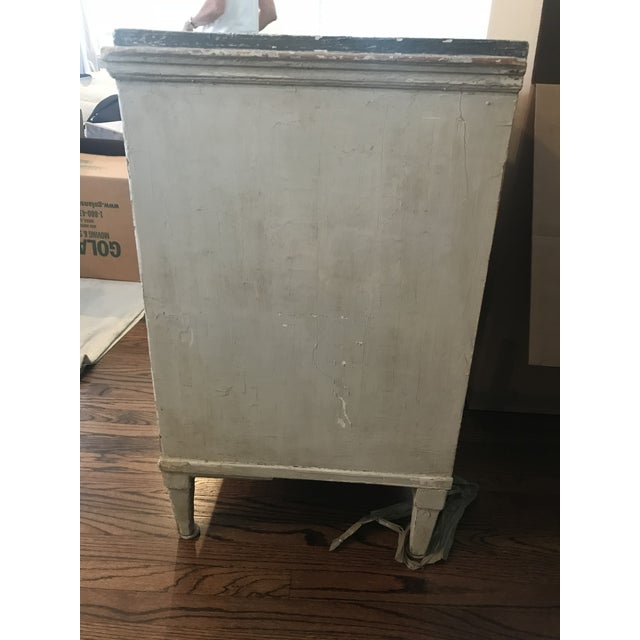 Late 20th Century Vintage Gustavian Chest For Sale - Image 10 of 12