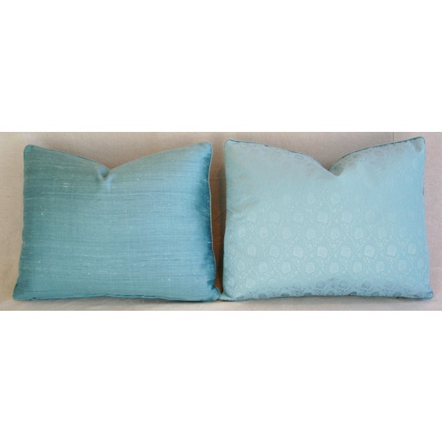 Powder Blue French Lelievre of Paris Pillows - a Pair - Image 7 of 11