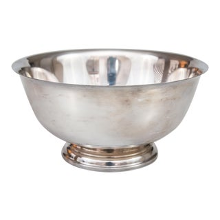 Vintage Silverplate Revere Bowl For Sale