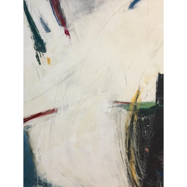 Acrylic Paint Abstract Expressionism Painting by Kimberly Moore For Sale - Image 7 of 9
