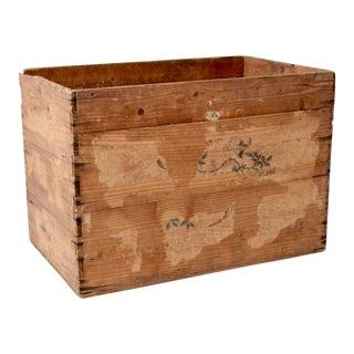 Antique Primitive Wooden Box