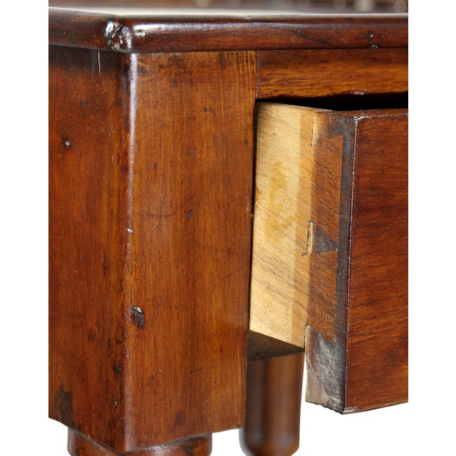 Brown Matching Charles X Mahogany End Tables - a Pair For Sale - Image 8 of 12