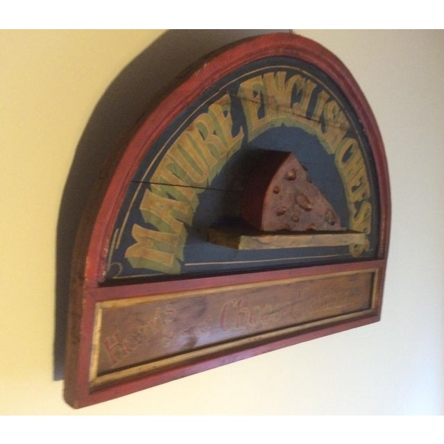 Vintage Cheese Sign - Image 4 of 5