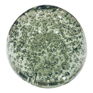 Modern India Jane Green Glass Sphere Model For Sale