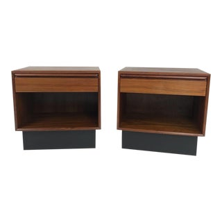 Pair of Teak Nightstands by Westnofa