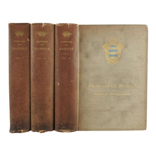 Memoirs of Barras: Member of the Directorate - Set of 3 For Sale