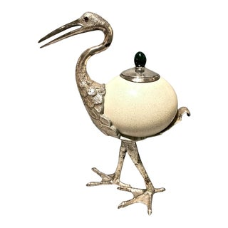 Antony Redmile Heron Centerpiece Figurine For Sale