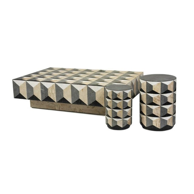 Contemporary Milano Coffee Table For Sale - Image 3 of 4