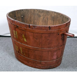 French Grape Harvesting Bucket, Circa 1900 Preview