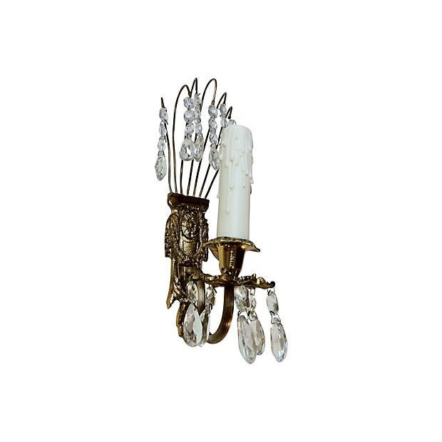 Gustavian Chandelier Sconces - A Pair - Image 2 of 3
