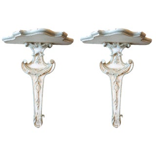 Pair of 18th Century Wall Brackets For Sale
