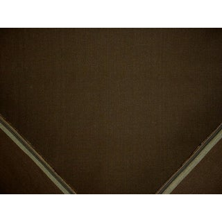 Traditional Ralph Lauren Sunbaked Linen Coffee Brown Upholstery Fabric - 5y For Sale