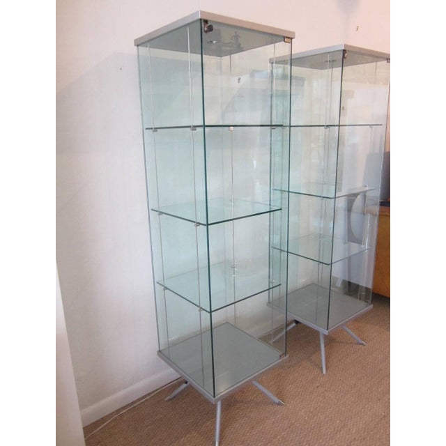 Glass Display Cabinets - A Pair - Image 3 of 11