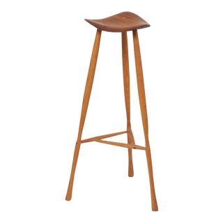 Studio Craft Stool by Karl Seemuller, Us, 1975 For Sale