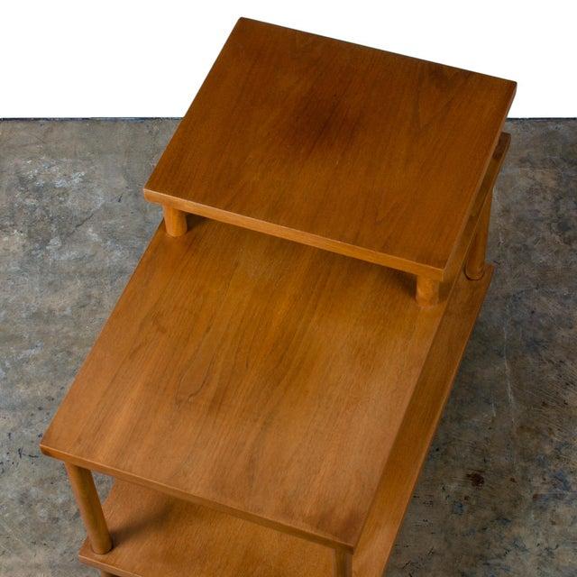 t.h. Robsjohn-Gibbings for Widdicomb Step Side Table For Sale - Image 9 of 11