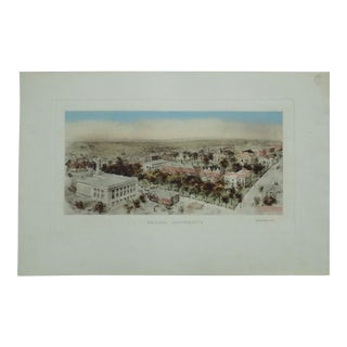 Early 20th Century Antique Brown University Print For Sale