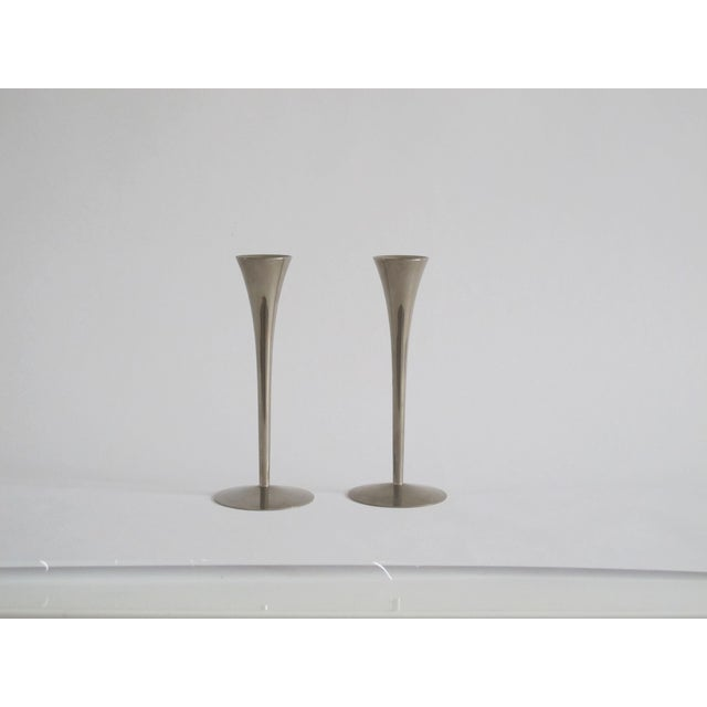 Danish Modern Candleholders - A Pair - Image 2 of 4
