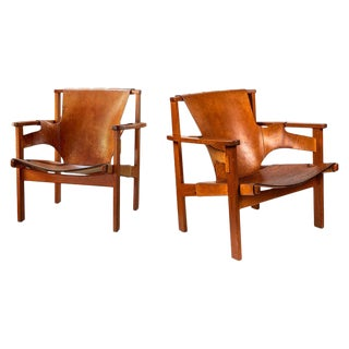 """1950s Vintage Carl Axel Acking """"Trienna"""" Chairs- A Pair For Sale"""