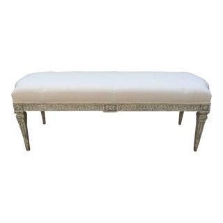 19th Century Louis XVI Bench For Sale