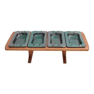 French Table Tray by Guillerme et Chambron & Boneslaw Danikowski, Serving Piece For Sale