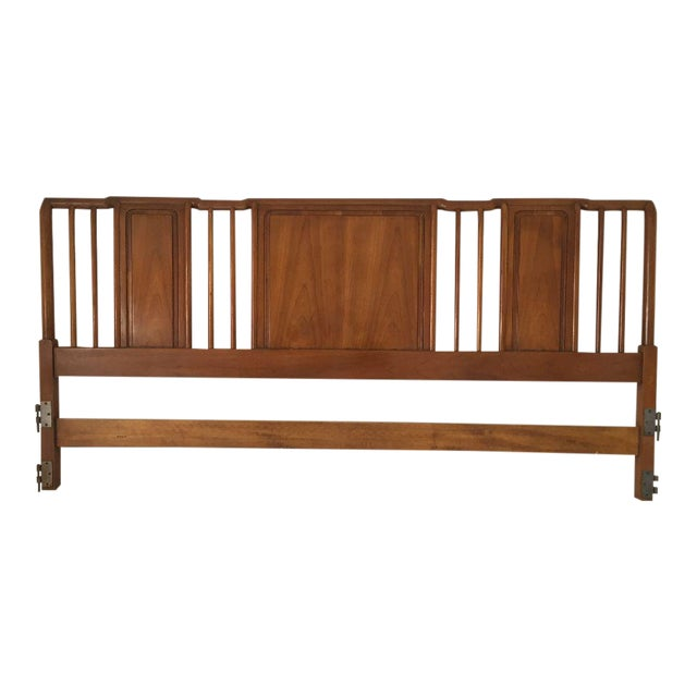 Midcentury John Widdicomb Cherry King-Size Headboard For Sale