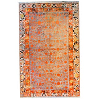 Early 20th Century Samarghand Rug For Sale