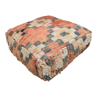 Vintage Moroccan Vintage Pouf Cover For Sale