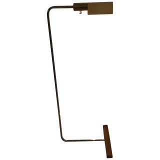 Cedric Hartman Chrome & Brass Floor Lamp