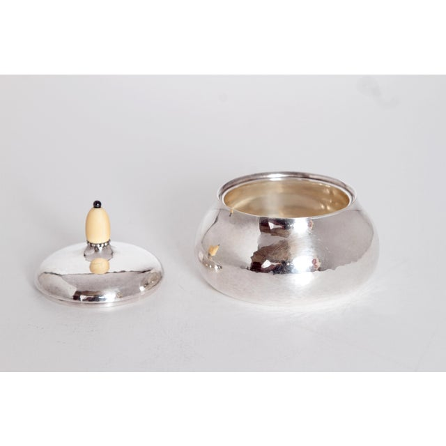 Sterling Silver Coffee Set by Georg Jensen For Sale - Image 9 of 11