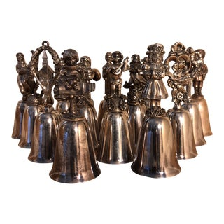Vintage Reed & Barton Silver Bell - Set of 14