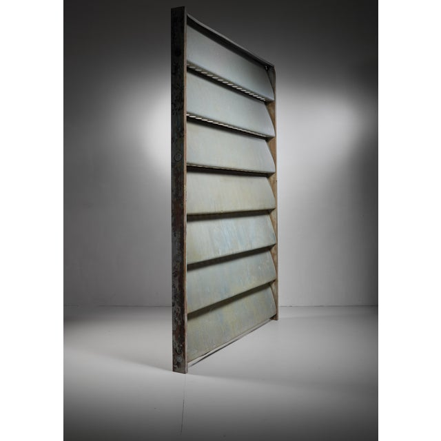 1960s Jean Prouvé Sliding Panel or room divider, Cameroon, 1964 For Sale - Image 5 of 6