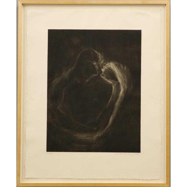 """1990s Susan Rothenberg, """"Mezzofist #2"""" Mezzotint Print For Sale - Image 13 of 13"""