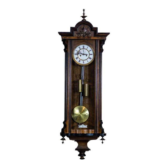 19th-Century Wall Clock For Sale