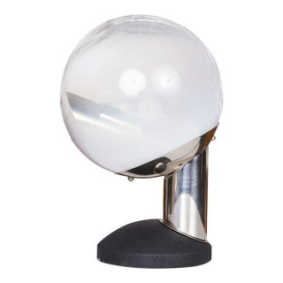 Glass Globe Table Lamp by Kosta For Sale