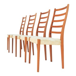 Scandinavian Modern by Svegards Markaryd Teak Dining Chairs - Set of 4
