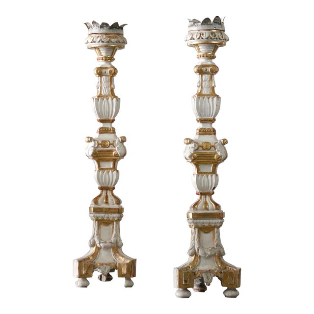 Italian Alter Candles For Sale
