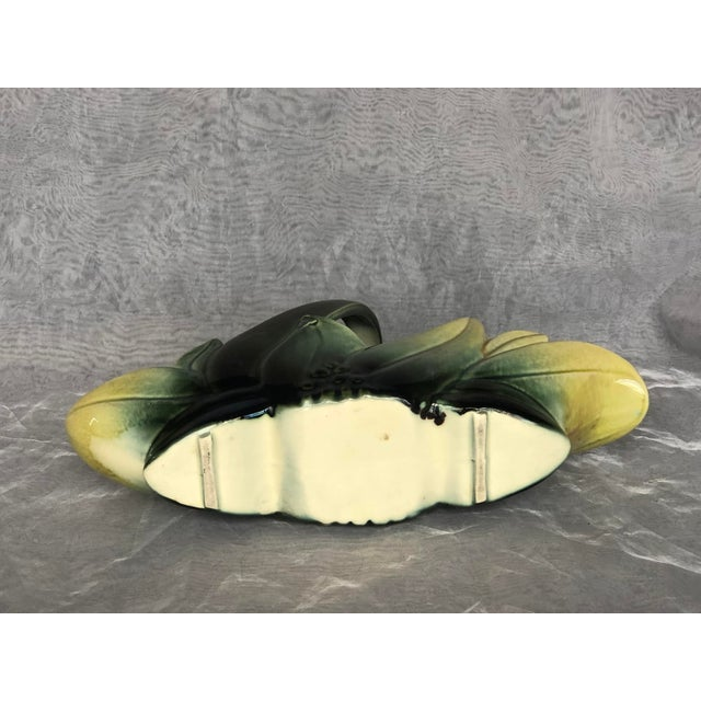 1950s Hull Pottery Basket Indoor Planter For Sale - Image 11 of 13