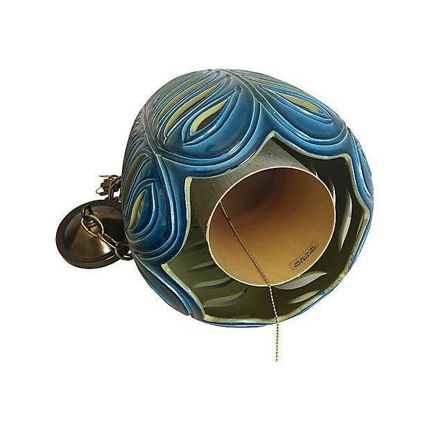 Art Pottery Pendant Light - Image 7 of 7