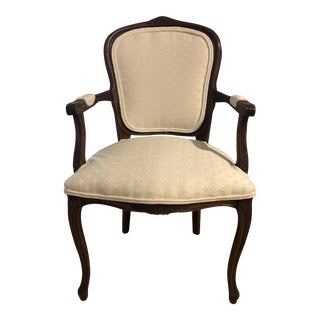 1950s Vintage Harris Marcus Louis XV Fauteuil For Sale