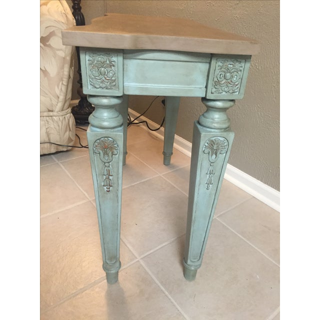 Vintage Console Table and Mirror - Image 5 of 8
