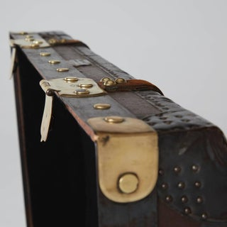 1920s French Moynat Steamer Trunk Preview
