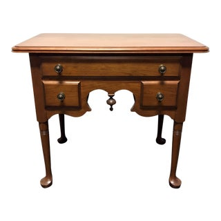 PENNSYLVANIA HOUSE Cherry Queen Anne Diminuitive Lowboy Chest Nightstand