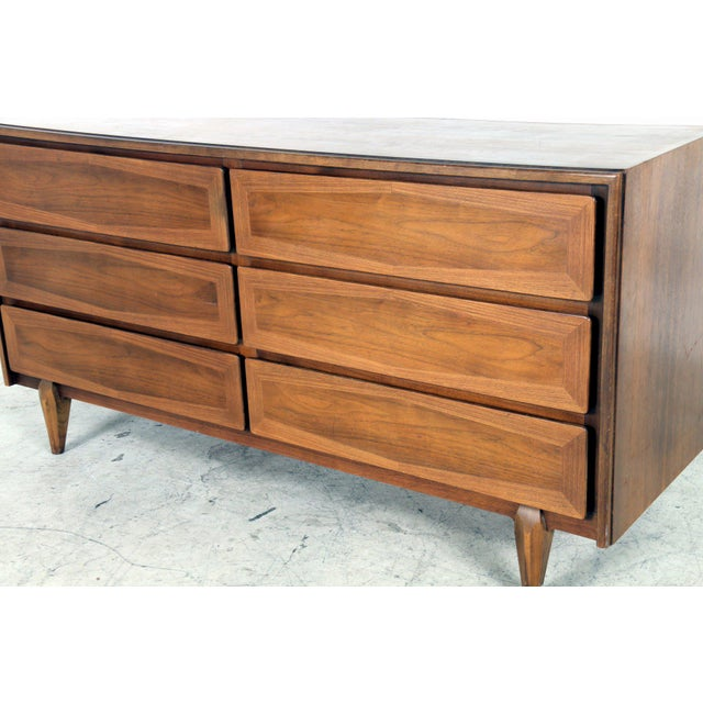 Vintage American of Martinsville Mid-Century Dresser - Image 3 of 8