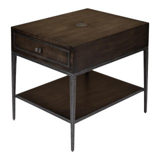 Bridford Side Table, Artisan Grey For Sale