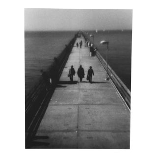 "1977 Black & White photograph Berekeley, CA ""The Pier"" For Sale"
