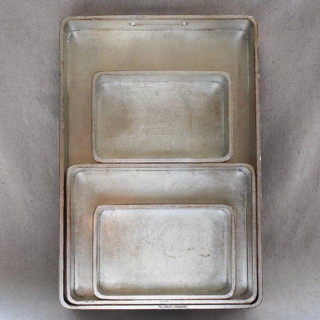 4-Piece Florentine Silver-Gilt Nesting Trays - Image 6 of 11