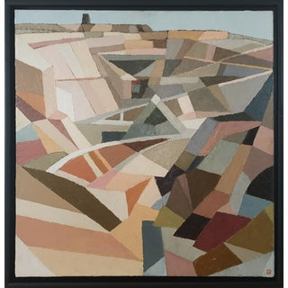 Contemporary Oil Painting by Andy Dobbie, Parys Mountain III For Sale
