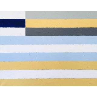 """2020 Donald Florence Abstract """"Three Yellow"""" Acrylic Painting For Sale"""