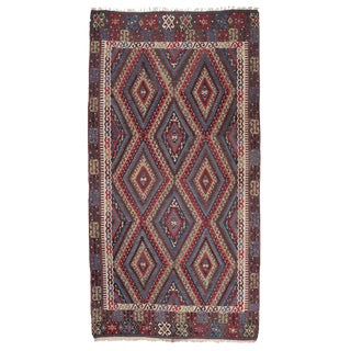 """Blue"" Fethiye Kilim For Sale"